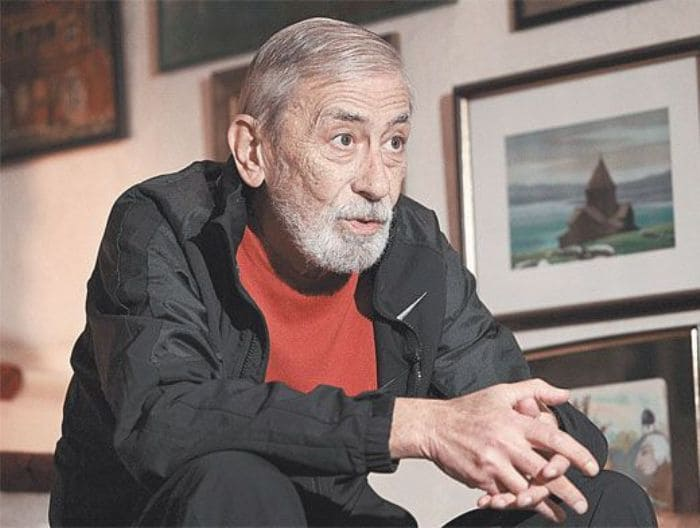 Народный артист Грузии Вахтанг Кикабидзе | Фото: aif.ru
