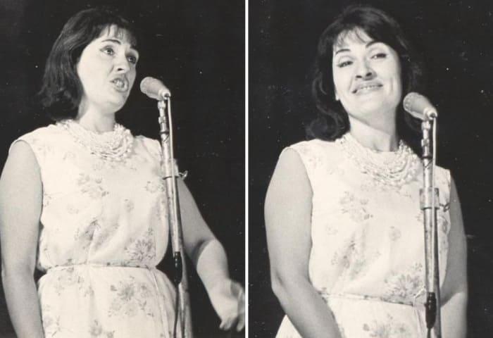 Певица на сцене | Фото: dvoryaninowa.narod.ru