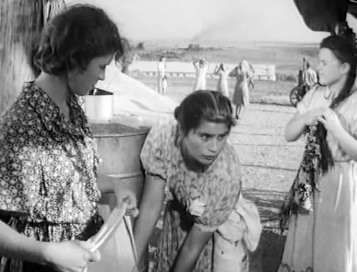 Дебютная роль Валентины Пугачевой – в короткометражке *Надежда*, 1954 | Фото: kino-teatr.ru