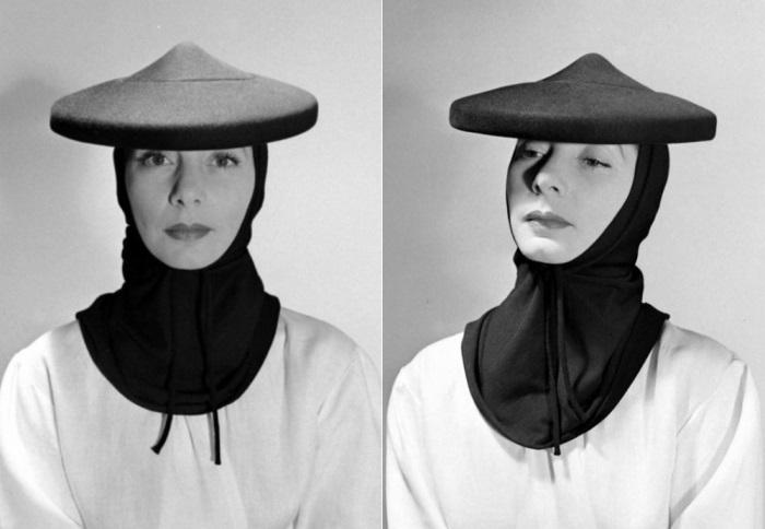 Валентина в шляпе-кули собственного дизайна | Фото: liveinternet.ru
