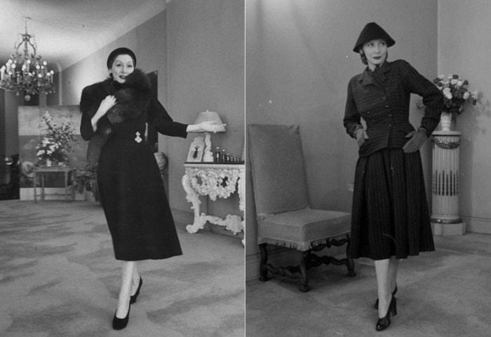 В 1940-х гг. она одевала всех знаменитых голливудских актрис | Фото: liveinternet.ru