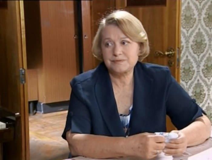Валентина Талызина в сериале *Сыщики-5*, 2006 | Фото: kino-teatr.ru