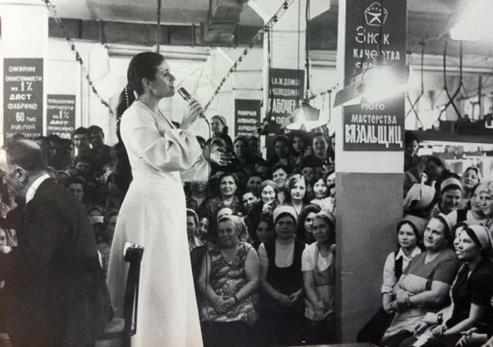 *Хрустальный голос* советской эстрады   Фото: liveinternet.ru