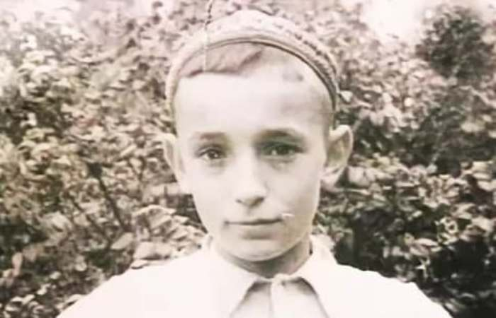 Валентин Гафт в детстве | Фото: biographe.ru