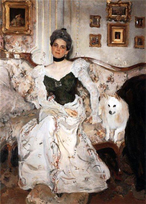 Валентин Серов. Портрет княгини З. Н. Юсуповой, 1902