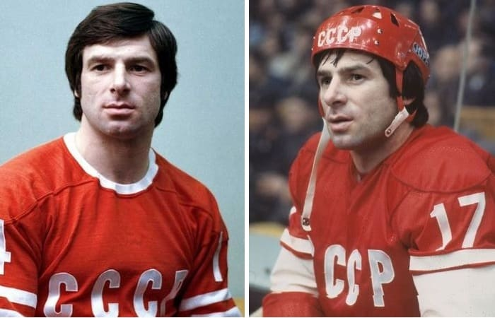 Легенда советского хоккея Валерий Харламов | Фото: 24smi.org и uznayvse.ru