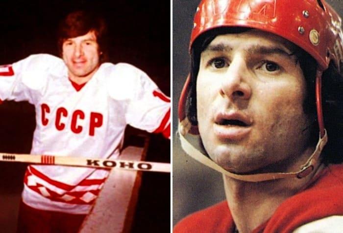Один из лучших хоккеистов мира Валерий Харламов | Фото: 24smi.org и uznayvse.ru