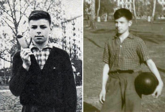 Валерий Харламов в юности | Фото: slavikap.livejournal.com и 24smi.org
