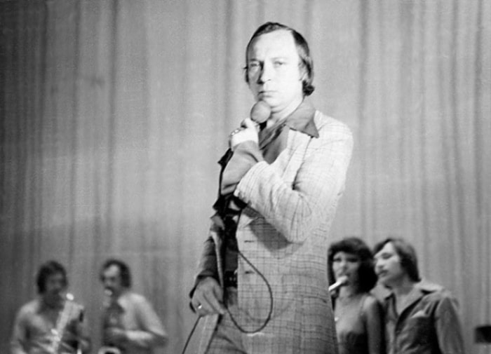 Один из самых популярных в 1970-х гг. певцов   Фото: colta.ru