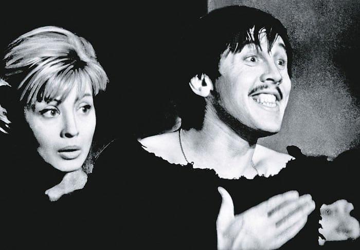 Валерий Золотухин и Нина Шацкая | Фото: stuki-druki.com