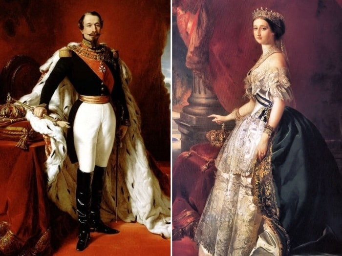 Император Наполеон III и императрица Евгения | Фото: liveinternet.ru
