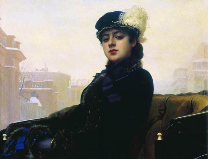 Иван Крамской. Неизвестная, 1883 | Фото: subscribe.ru
