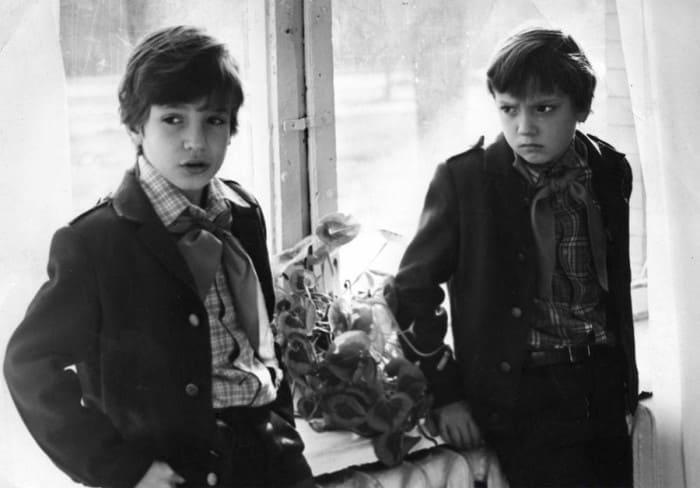 На съемках фильма *Приключения Петрова и Васечкина. Обыкновенные и невероятные* | Фото: dubikvit.livejournal.com