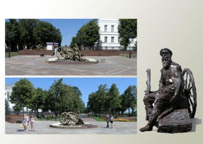 Проект памятника В. Кочеткову в Ульяновске | Фото: ulpressa.ru