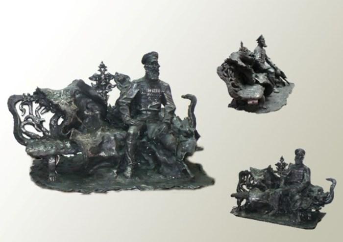 Один из вариантов памятника Кочеткову | Фото: ulpressa.ru