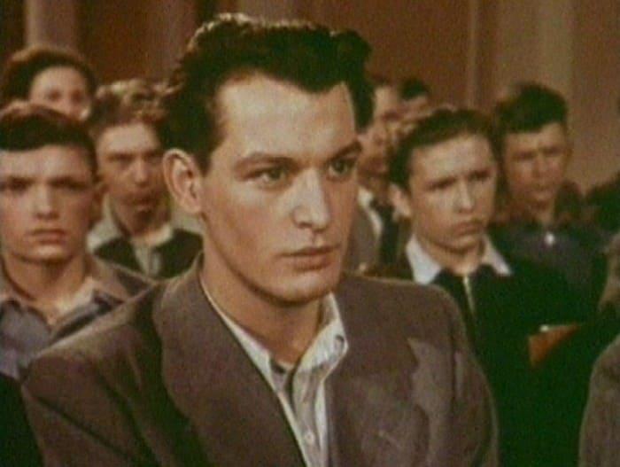Дебютная роль Ланового – в фильме *Аттестат зрелости*, 1954 | Фото: kino-teatr.ru