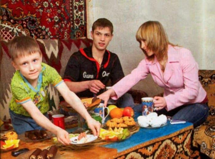 Актер с семьей | Фото: kino-teatr.ru