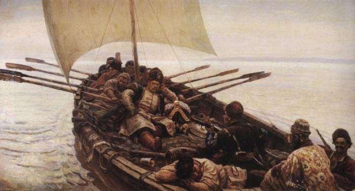 В. Суриков. Степан Разин, 1906