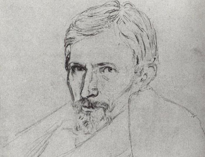 А. Куинджи. Портрет В. Васнецова