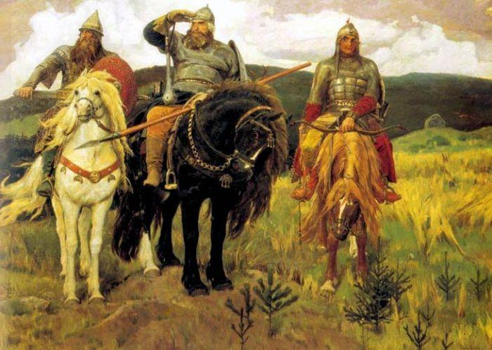 В. Васнецов. Богатыри, 1898 | Фото: artchive.ru