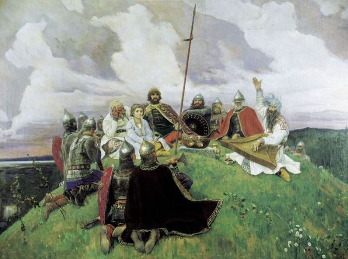 В. Васнецов. Баян, 1910   Фото: artchive.ru