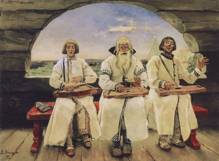 В. Васнецов. Гусляры, 1899   Фото: artchive.ru