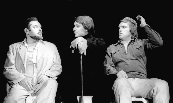 Первый советский исполнитель роли Воланда Вениамин Смехов, Театр на Таганке, 1977 | Фото: journal.learnoff.com