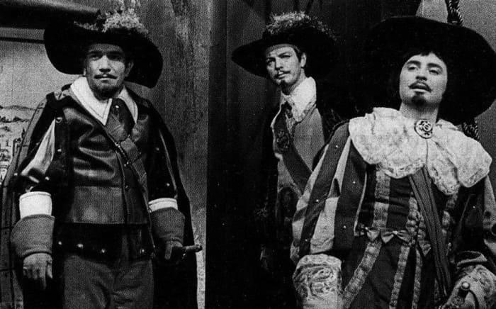 Вениамин Смехов в фильме-спектакле *Двадцать лет спустя*, 1971 | Фото: kino-teatr.ru