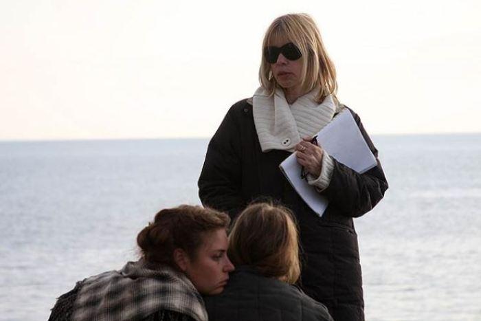 Вера Глаголева на съемках своего фильма *Одна война* | Фото: 24smi.org
