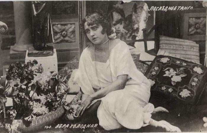 Кадр из фильма *Последнее танго*, 1918