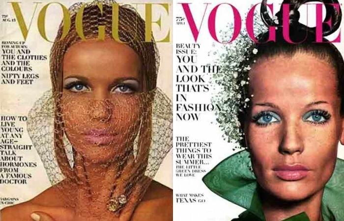 Верушка на обложке *Vogue*