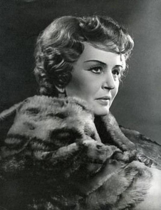 Актриса Вероника Полонская