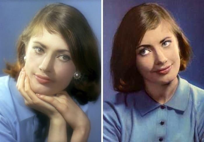 Дочь звезды советского кино и американского адмирала | Фото: chtoby-pomnili.net и kino-teatr.ru