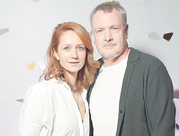 Виктория Исакова и ее муж, режиссер Юрий Мороз | Фото: womanhit.ru