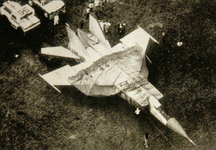 Истребитель, угнанный летчиком Виктором Беленко | Фото: sekretmira.ru