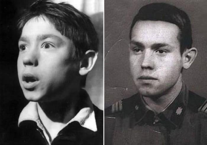 Актер в юности | Фото: kino-teatr.ru, 24smi.org