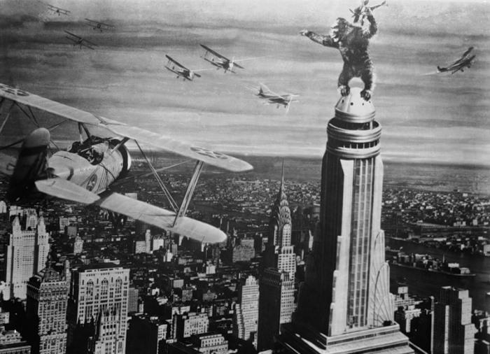 Кадр из фильма *Кинг-Конг*, 1933 | Фото: ice-ti.livejournal.com