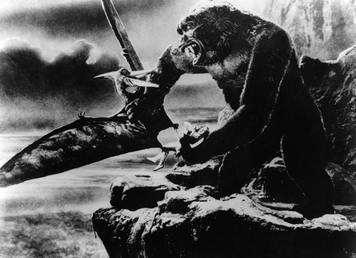 Кадр из фильма *Кинг-Конг*, 1933 | Фото: kinomania.ru