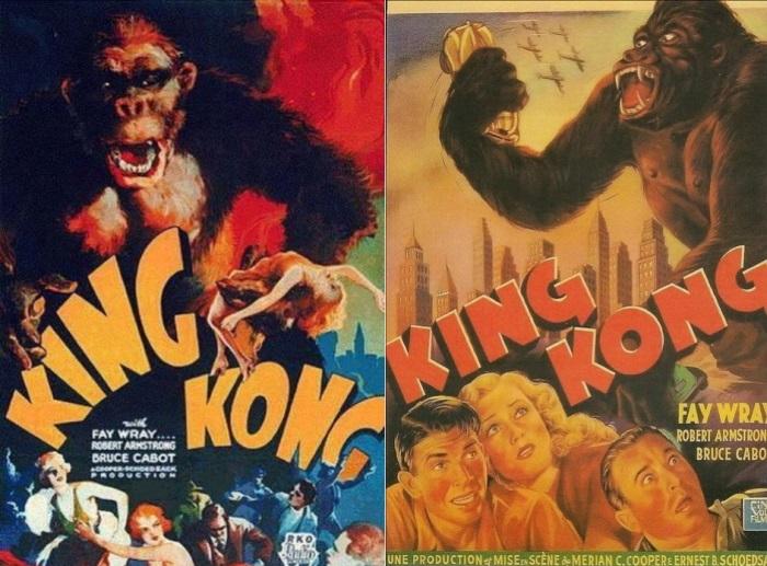 Афиши фильма *Кинг-Конг*, 1933   Фото: blog.trud.ru