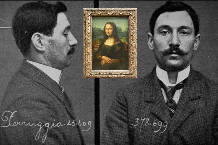 Винченцо Перуджа и похищенный им шедевр | Фото: pbs.org и kpnemo.eu