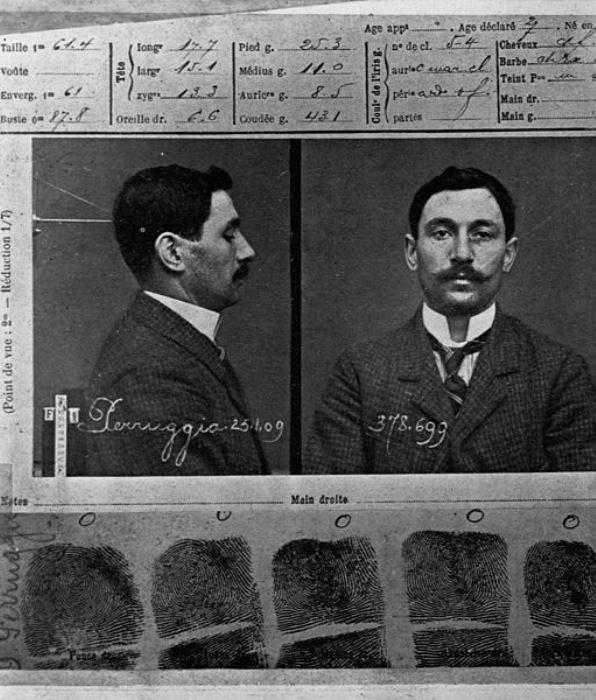 Винченцо Перуджа. Лист из уголовного дела | Фото: zakonia.ru