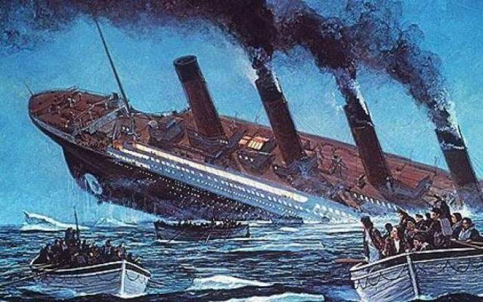 Крушение *Титаника*