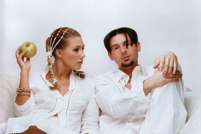 Ева Польна и Юрий Усачев в составе группы *Гости из будущего* | Фото: uznayvse.ru