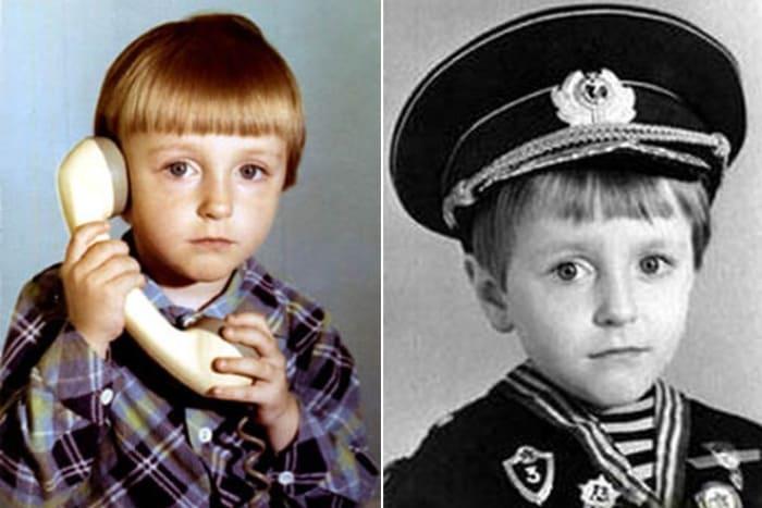 Сергей Безруков в детстве | Фото: 24smi.org