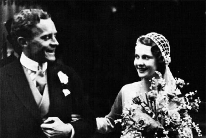 Актриса с первым мужем, адвокатом Гербертом Ли Холманом | Фото: 24smi.org