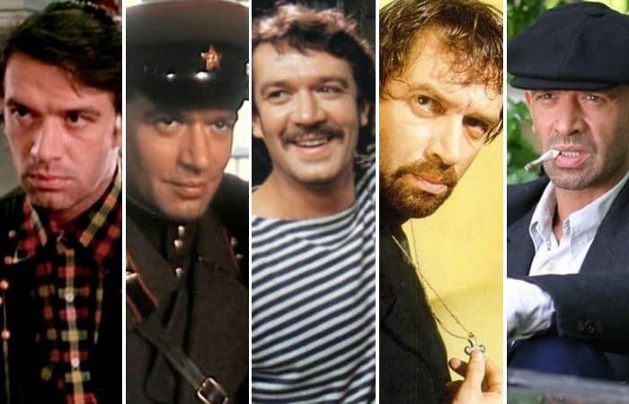 Самые яркие кинообразы Владимира Машкова | Фото: kino-teatr.ru, wday.ru, vokrug.tv