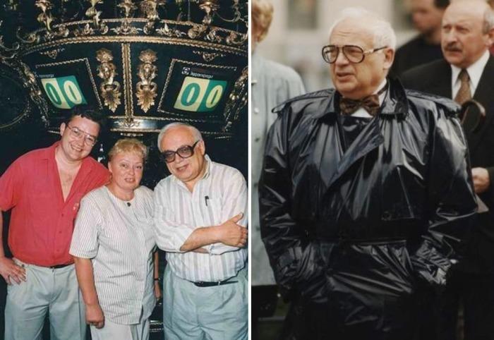 Владимир Ворошилов, его приемный сын Борис Крюк и жена Наталья Стеценко | Фото: chtoby-pomnili.net