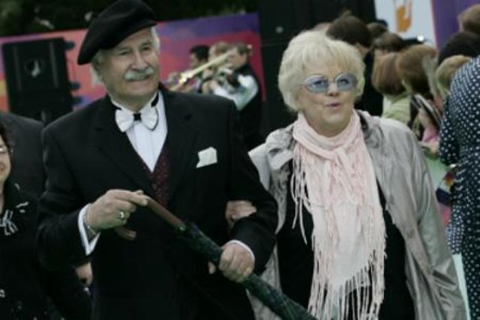 Владимир Зельдин с супругой Иветтой Капраловой | Фото: biography-life.ru