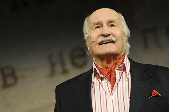 Актер театра и кино, народный артист СССР Владимир Зельдин | Фото: echo.msk.ru
