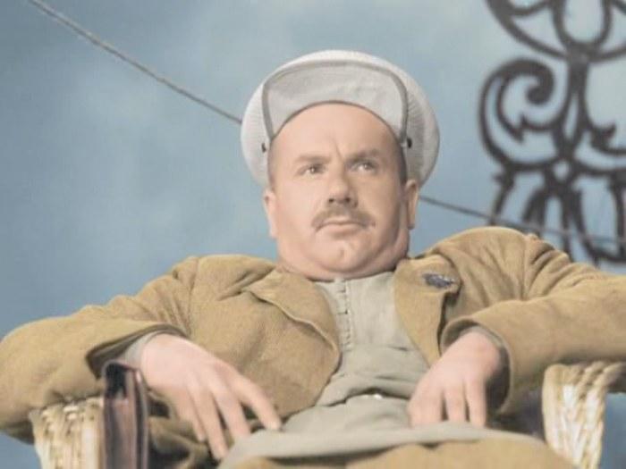Игорь Ильинский в фильме *Волга-Волга*, 1938   Фото: kino-teatr.ru